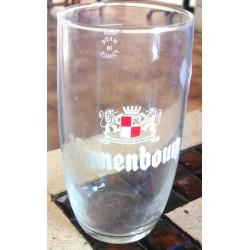 """Verre a bière """"KRONENBOURG"""" 25 cl gradué vintage en très bon état collection occasion"""