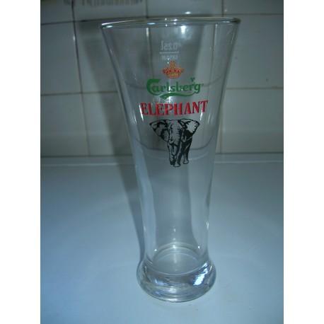 grand verre a biere 25 cl carlsberg elephant tbe
