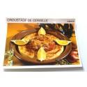 """FICHE CUISINE vintage rétro la bonne cuisine abats """" croustade de cervelle"""""""