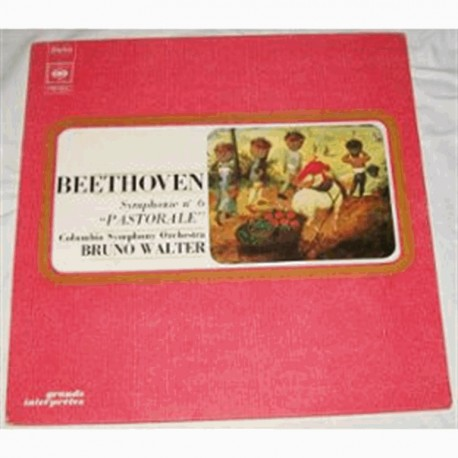 Disque Vinyle - 33 tours Beethoven Symphonie N° 6 Pastorale - Columbia Symphonie Orchestra Bruno Walter