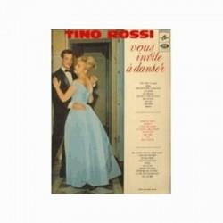 Disque Vinyle 33 tours Tino Rossi Vous Invite À Danser 28 titres collection occasion