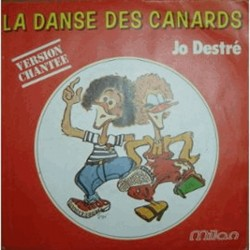 Disque Vinyle 33 tours La Danse Des Canards Jo Destre 18 titres collection occasion