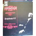 Disque Vinyle - 33 tours Beethoven Symphonie N°5 - Furtwaengler