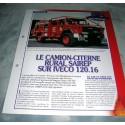 """FICHE FASCICULE POMPIERS COLLECTION """" LES VÉHICULES """" fiche 72"""