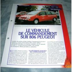 """FICHE FASCICULE POMPIERS COLLECTION """" LES VÉHICULES """" fiche 78"""