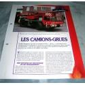 """FICHE FASCICULE POMPIERS COLLECTION """" LES VÉHICULES """" fiche 104"""
