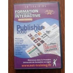 Jeux vidéo logiciel formation multimédia interactive publisher 2000 sur PC