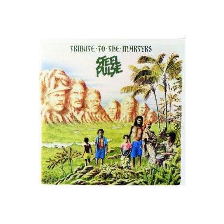 "Cassette audio K7 AUDIO "" TRIBUTE TO THE MARTYRS "" de STEEL PULSE"