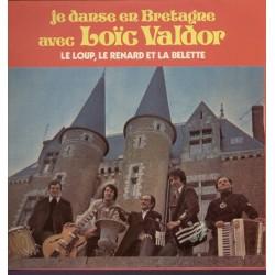 Disque Vinyle -33 tours Je danse en bretagne LOIC VALDOR collection occasion