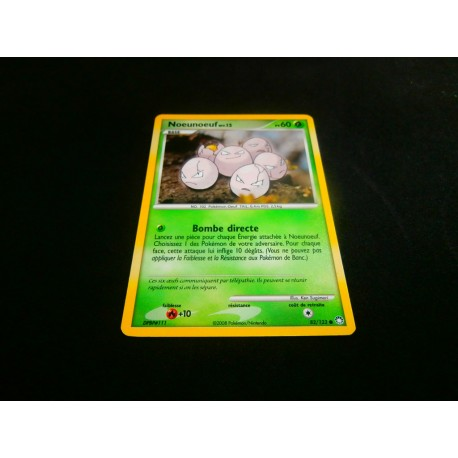 Carte à collectionner Pokemon - Noeunoeuf - 60PV collection occasion