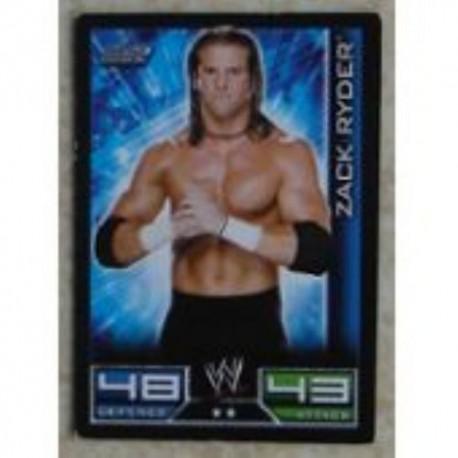 Carte à collectionner catch Wwe Slam Attax 2008 : Zack Ryder (Smackdown)