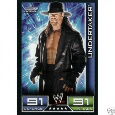 Carte à collectionner catch Wwe Slam Attax 2008 : Undertaker (Smackdown)