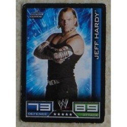 Carte à collectionner catch Wwe Slam Attax 2008 : Jeff Hardy (Smackdown)