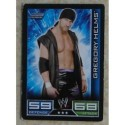 Carte à collectionner catch Wwe Slam Attax 2008 : Gregory Helms (Smackdown)