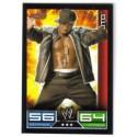Carte à collectionner catch Wwe Slam Attax JTG (RAW)