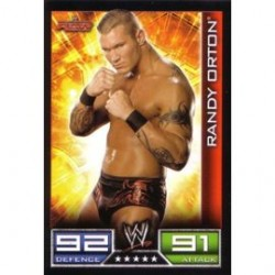 Carte à collectionner catch Wwe Slam Attax RANDY ORTON (Smackdown)