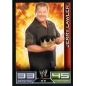 Carte à collectionner catch Wwe Slam Attax JERRY LAWLER (RAW)