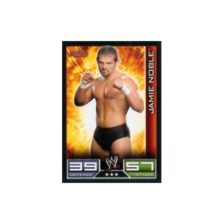 Carte à collectionner catch Wwe Slam Attax JAMIE NOBLE (Smackdown)