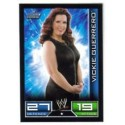 Carte à collectionner catch Wwe Slam Attax VICKIE GUERRERO (Smackdown)