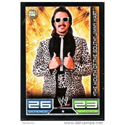 Carte à collectionner catch Wwe Slam Attax THE MOUTH OF THE SOUTH JIMMY HART (HALL OF FAME)