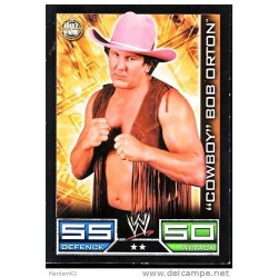 Carte à collectionner catch Wwe Slam Attax COWBOY BOB ORTON (HALL OF FAME)