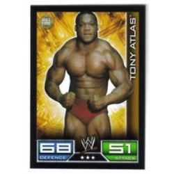 Carte à collectionner catch Wwe Slam Attax TONY ATLAS (HALL OF FAME)