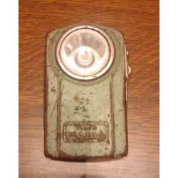 Ancienne pile métal armée de poche verte MAZDA bon état de fonctionnement