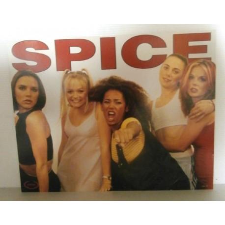 Poster cartonné déco star spice girls 30 x 24 cm