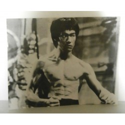 Poster cartonné déco star Bruce Lee 30 x 24 cm COLLECTION