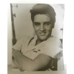 Poster cartonné déco star Elvis Priesley 30 x 24 cm COLLECTION