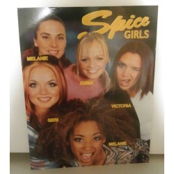 Poster cartonné déco star spice girls (03) 30 x 24 cm COLLECTION