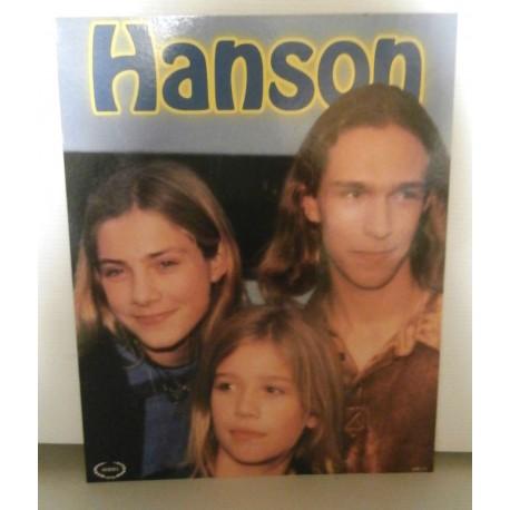 Poster cartonné déco star 30 x 24 cm HANSON