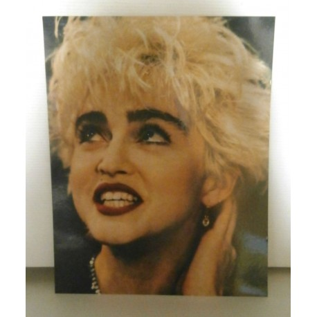 Poster cartonné déco star 30 x 24 cm Madonna 02