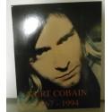 Poster cartonné déco star 30 x 24 cm Kurt Cobain