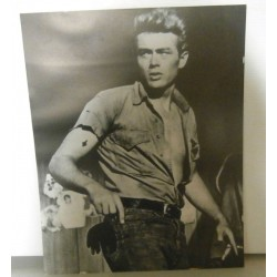 Poster cartonné déco star 30 x 24 cm James Dean COLLECTION