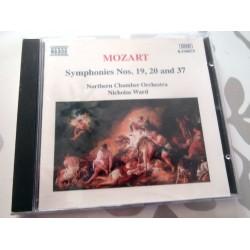 CD MUSIQUE CLASSIQUE Symphonies nos. 19, 20 & 37 Mozart