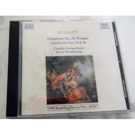 CD MUSIQUE CLASSIQUE Symphonies nos. 38 Prague , 29 & 30 Mozart