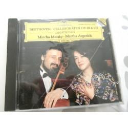 CD MUSIQUE CLASSIQUE BEETHOVEN CELLOSONATEN op. 69 & 102