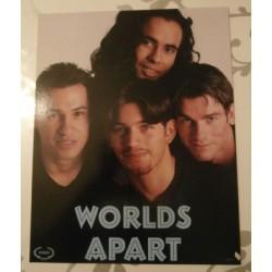 Poster cartonné déco star 30 x 24 cm World Apart