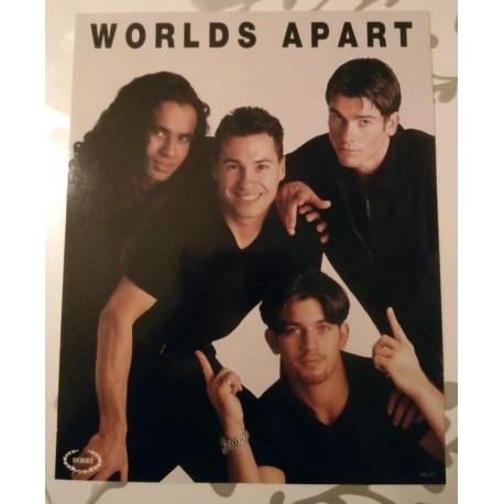 Poster cartonné déco star 30 x 24 cm World Apart 02