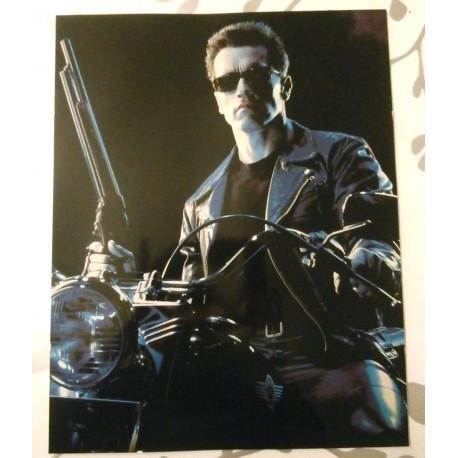 Poster cartonné déco star 30 x 24 cm Arnold Schwartzenegger