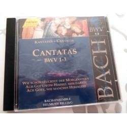 CD MUSIQUE CLASSIQUE Cantatas BWV 1 - 3