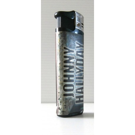 Collection ! Ancien briquet collection déco JOHNNY HALLYDAY rechargeable