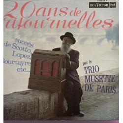 Disque Vinyle - 33 tours 20 Ans De Ritournelles René Joly - Camille Quinzin - Robert Deligny