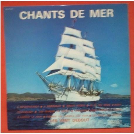 Disque Vinyle - 33 tours Chants De Mer -Chansons De Marins - Les Vents Debout