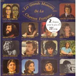 Disque Vinyle -33 tours Les Grands Moments De La Chanson Francaise