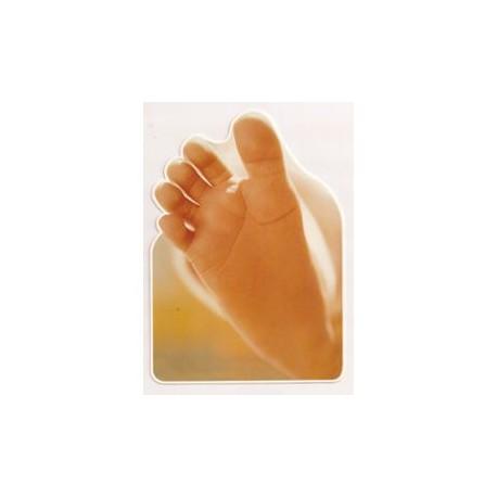 Carte postale NEUVE - pieds bébé