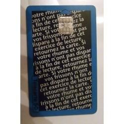 Ancienne carte téléphonique télécarte collection 50 unités fervex