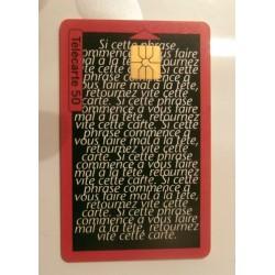 Ancienne carte téléphonique télécarte collection 50 unités oberlin
