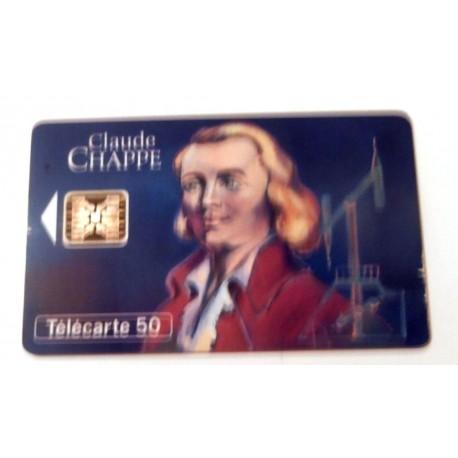 Ancienne carte téléphonique télécarte collection 50 unités Claude Chape